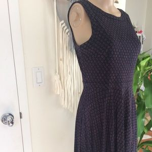 LOFT Navy Petite Dress